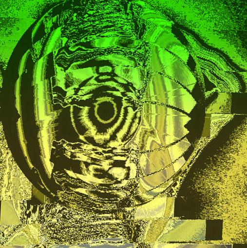 L'oeil du cyclone,das  AUge des Cyclones, , Exposition peinture, manfred la-fontaine,